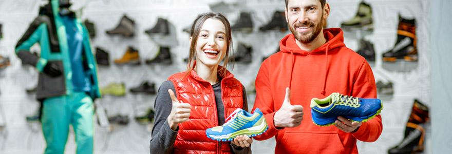 acquérir des chaussures de sport