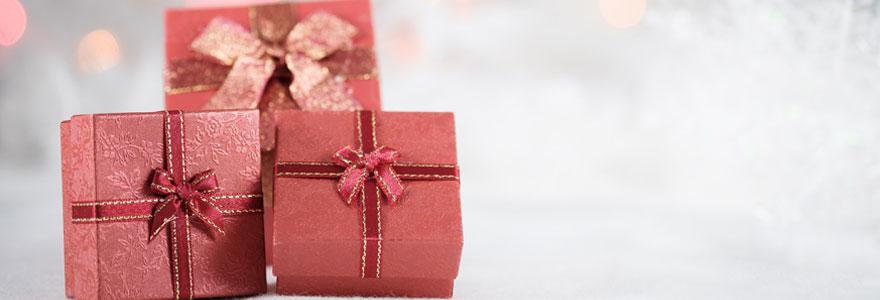 Photo de cadeaux de noel